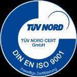 Logo TÜV Nord DIN EN ISO 9001