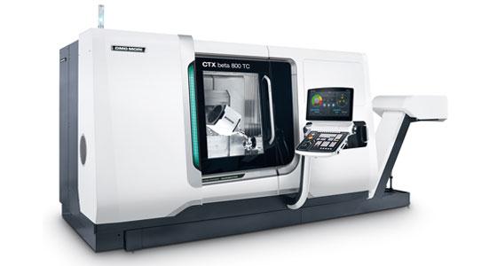 CNC Dreh-Fräszentrum vom Typ DMG Mori CTX beta 800 TC