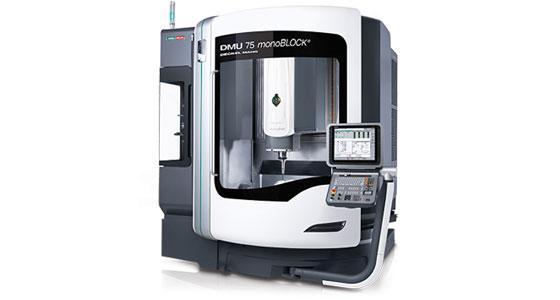 CNC Fräsmaschine vom Typ DMG Mori DMU 75 monoBLOCK